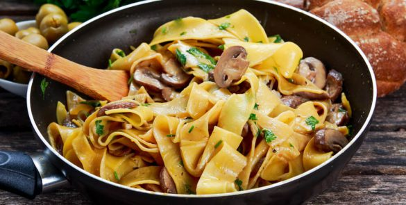 pappardelle funghi